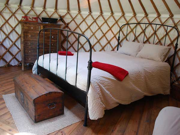 Cloud House Farm Yurt Holidays